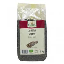 Priméal - Lentilles vertes de 1kg