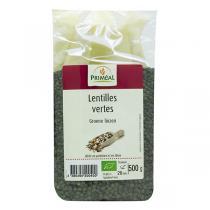 Priméal - Lentilles vertes 500g