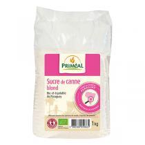 Priméal - Sucre de canne blond 1kg