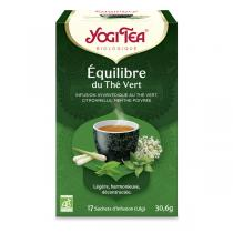 Yogi Tea - Equilibre du Thé Vert 17 Infusettes