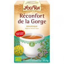 Yogi Tea - Infusion Réconfort de la gorge 15 sachets