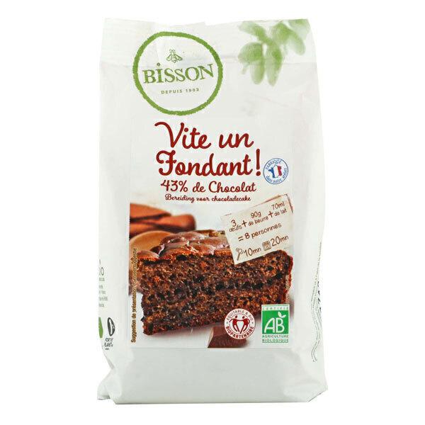Bisson - Préparation Fondant au chocolat 300g