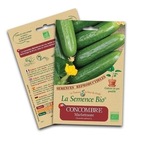 La Semence Bio - Graines de Concombre Marketmore