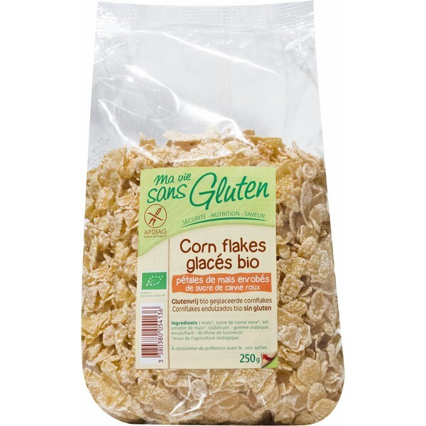 Ma Vie Sans Gluten - Céréales Corn Flakes Glacés 250 gr