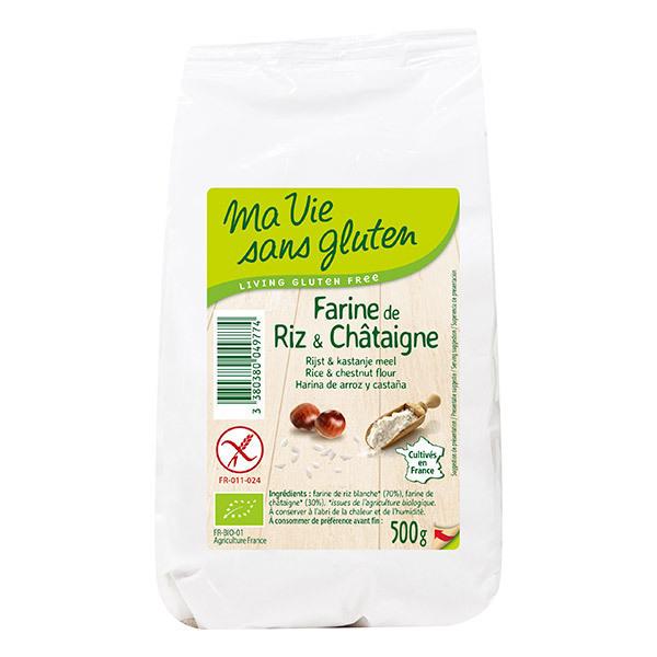 Ma Vie Sans Gluten - Farine de riz et châtaigne 500g