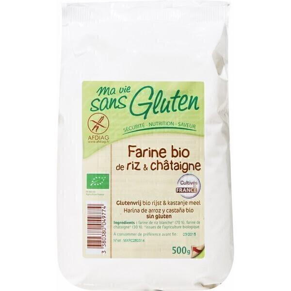 Ma Vie Sans Gluten - Farine de Riz et Châtaignes