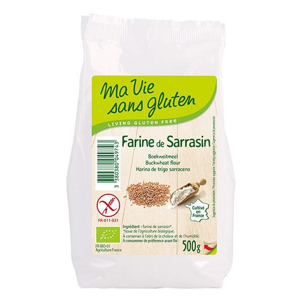Ma Vie Sans Gluten - Farine de sarrasin sans gluten 500g