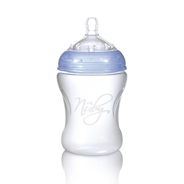 Nuby - Biberon Natural Touch seconda infanzia 330ml