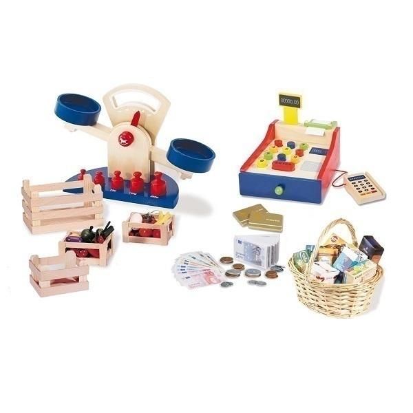 8 jeux pour jouer la marchande pinolino acheter sur. Black Bedroom Furniture Sets. Home Design Ideas