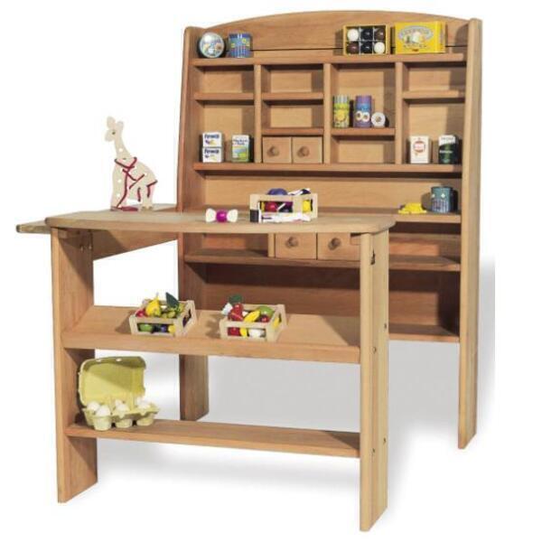 jeu de la marchande emile en h tre pinolino la r f rence bien tre bio b b. Black Bedroom Furniture Sets. Home Design Ideas