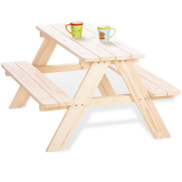 table enfant picnic 4 places pinolino acheter sur. Black Bedroom Furniture Sets. Home Design Ideas