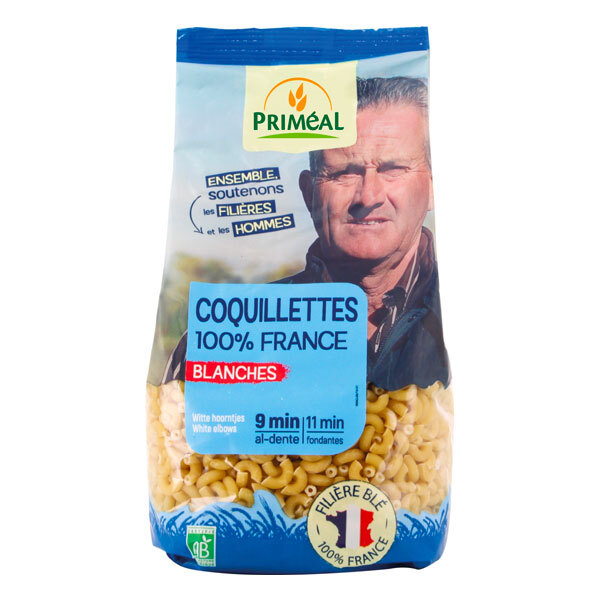 Priméal - Coquillettes blanche France 500g