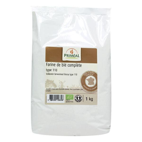 Priméal - Farine complète de blé France T110 1kg
