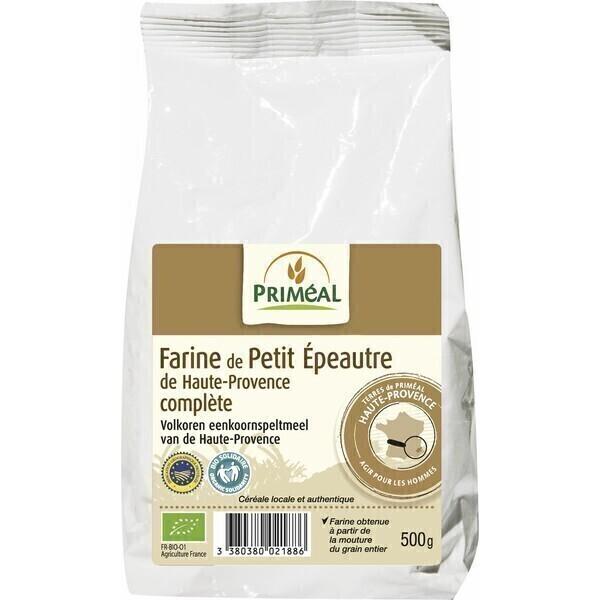 Priméal - Farine complète de petit épeautre 500g