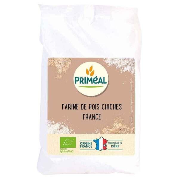 Priméal - Farine de pois chiches France 500g