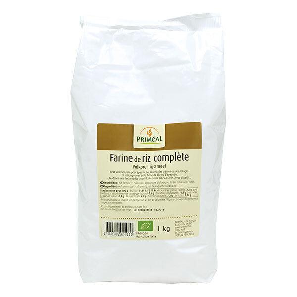 Priméal - Farine de riz complet France 1kg