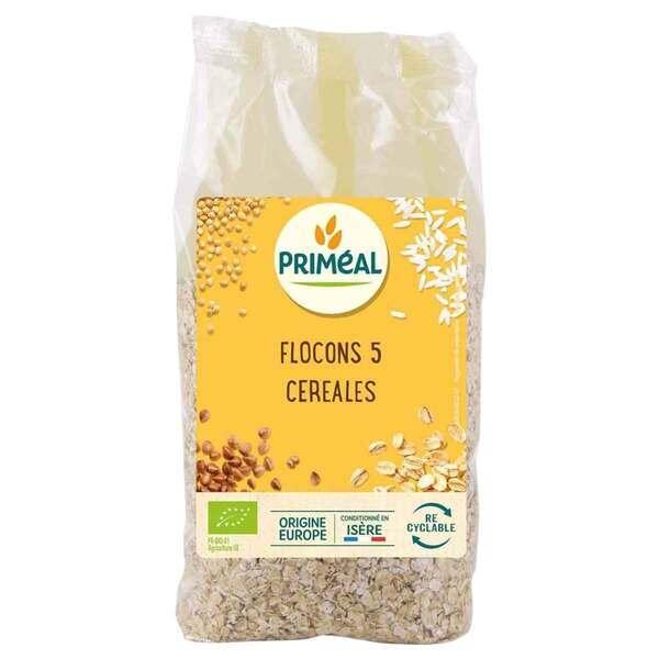 Priméal - Flocons 5 céréales 500g
