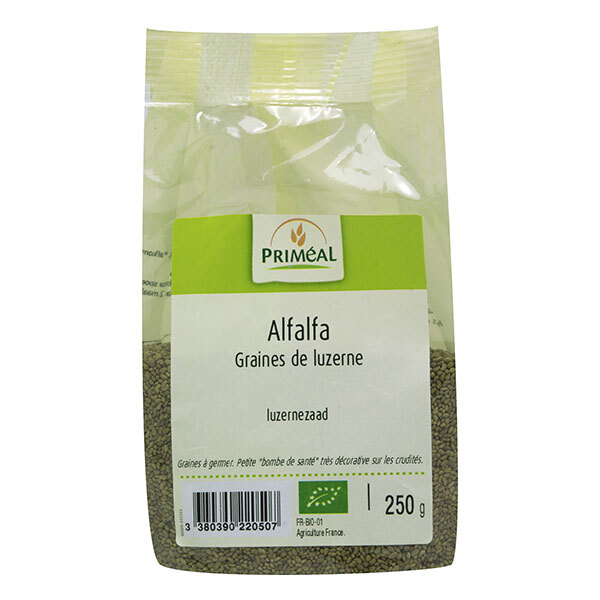 Priméal - Graines à germer AlfafaFrance 250g