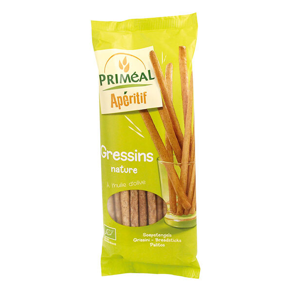 Priméal - Gressins à l'huile d'olive 120g