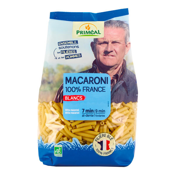 Priméal - Macaroni blanc France 500g