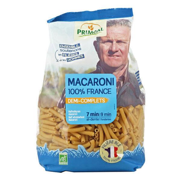 Priméal - Macaroni demi complet France 500g