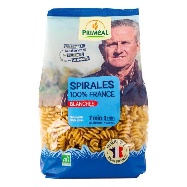 Priméal - Pâtes Spirales blanches France 500g