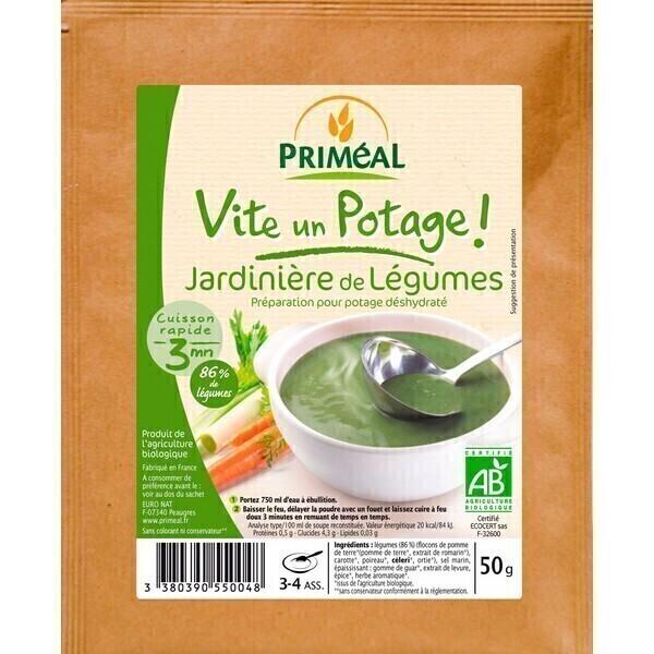 Priméal - Potage Jardinière de Légumes