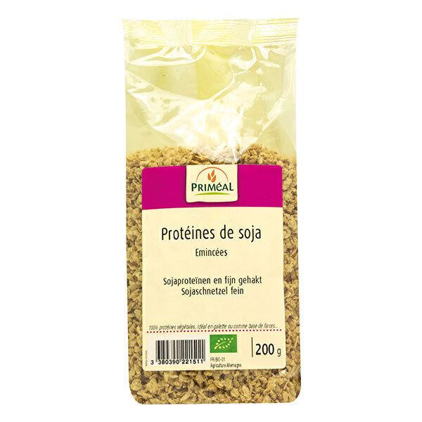 Priméal - Protéines de soja texturées 200g