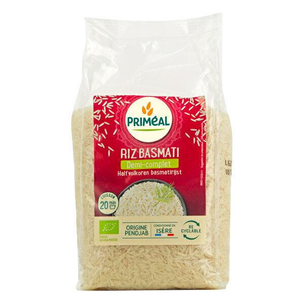 Priméal - Riz Basmati demi complet 1kg