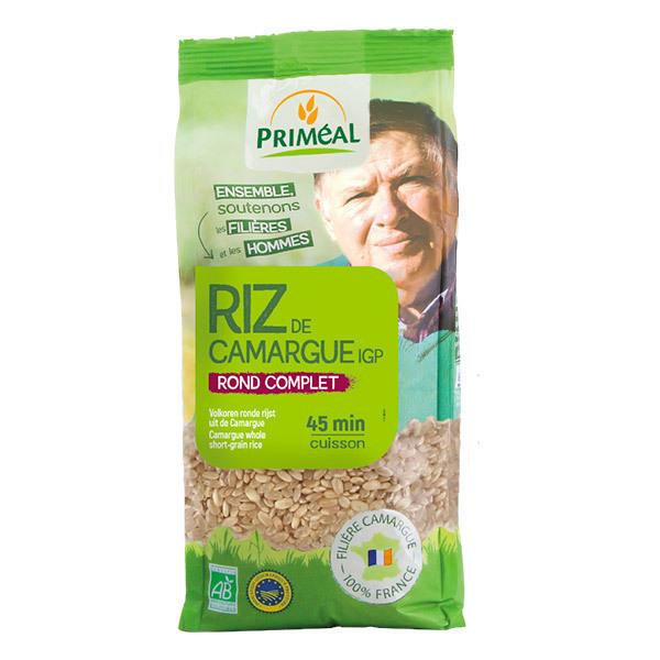 Priméal - Riz rond complet de Camargue 1kg