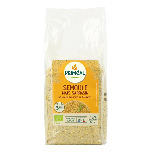 Priméal - Semoule maïs sarrasin 500g