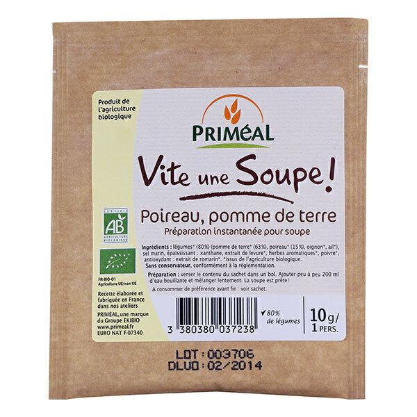 Priméal - Soupe poireaux pomme de terre 10g
