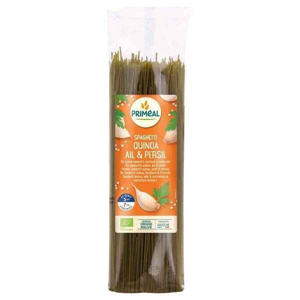 Priméal - Spaghetti blé et quinoa, ailet persil 500g