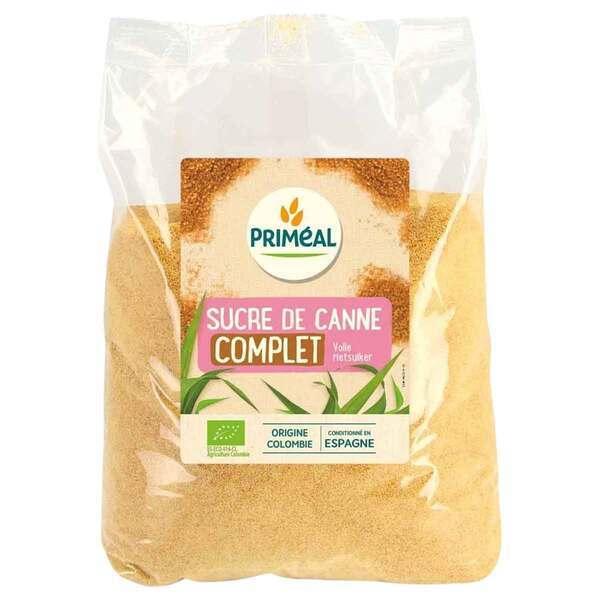 Priméal - Sucre de canne complet 1kg