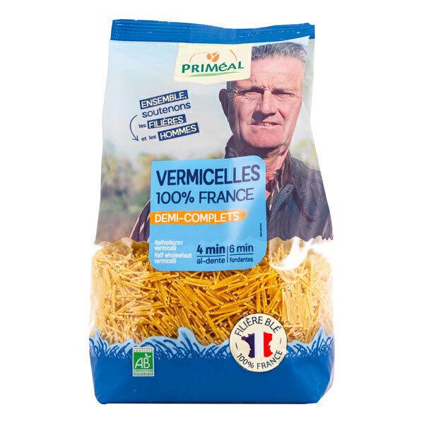 Priméal - Vermicelles demi complètes France 500g