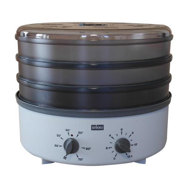Stockli - Déshydrateur grille inox et minuterie