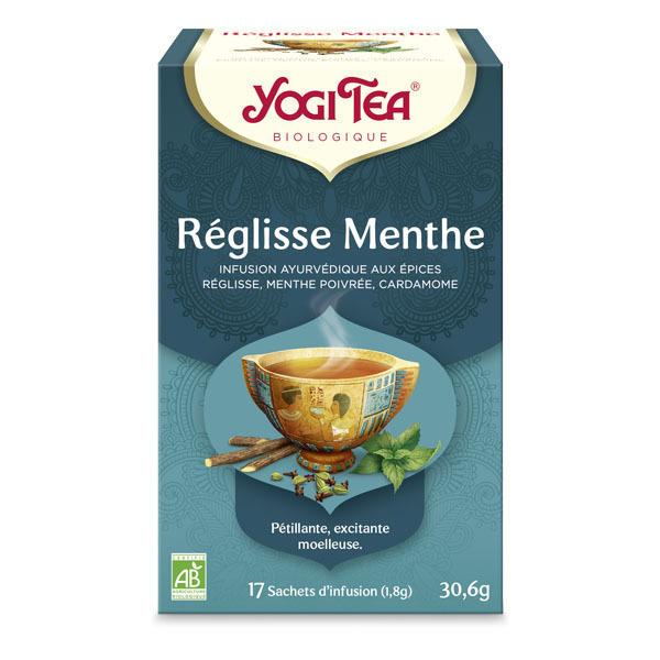 Yogi Tea - Infusion Réglisse Menthe 17 sachets