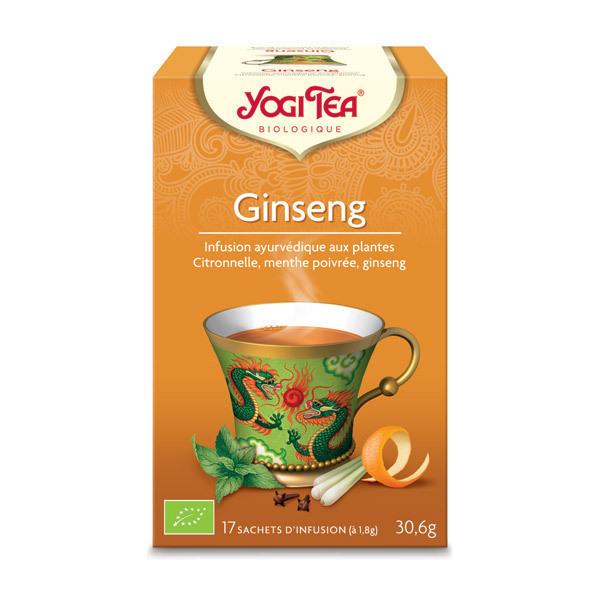 Yogi Tea - Infusion Tao Tea Ginseng 17 sachets