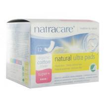 Natracare - Serviette Ultra super plus, 12 unités