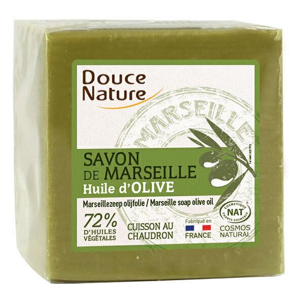 Douce Nature - Savon vert de marseille à l'huile d'olive 300g