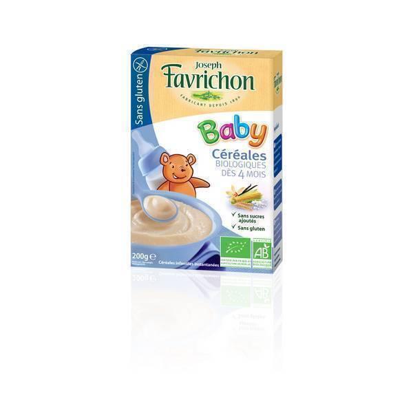 Favrichon - Céréales Bébé sans gluten - Favrichon - 200 gr