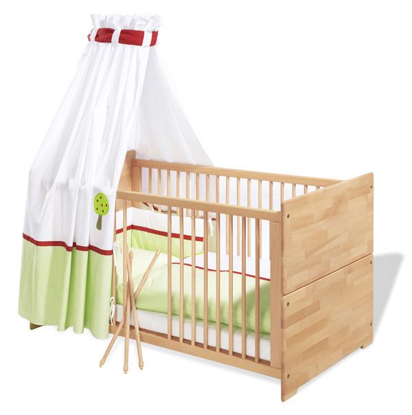 Lit b b volutif 70x140cm natura pinolino la r f rence bien - Lit bebe allaitement ...