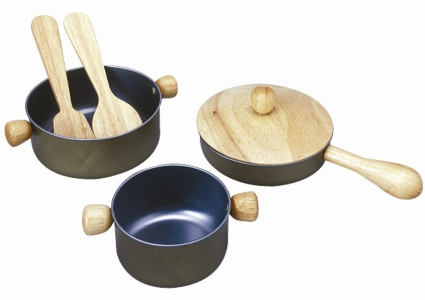 PlanToys - 34130 Cooking Utensils Set