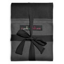Je porte mon bébé - JPMBB Original Stretchy Wrap Black & Charcoal Grey