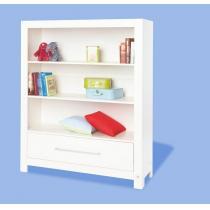 """Pinolino - Bibliothèque en bois, Collection """"Puro"""", coloris blanc"""