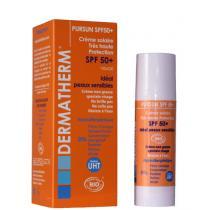 Dermatherm - PURSUN SPF50+ Crème solaire très haute protection 30ml