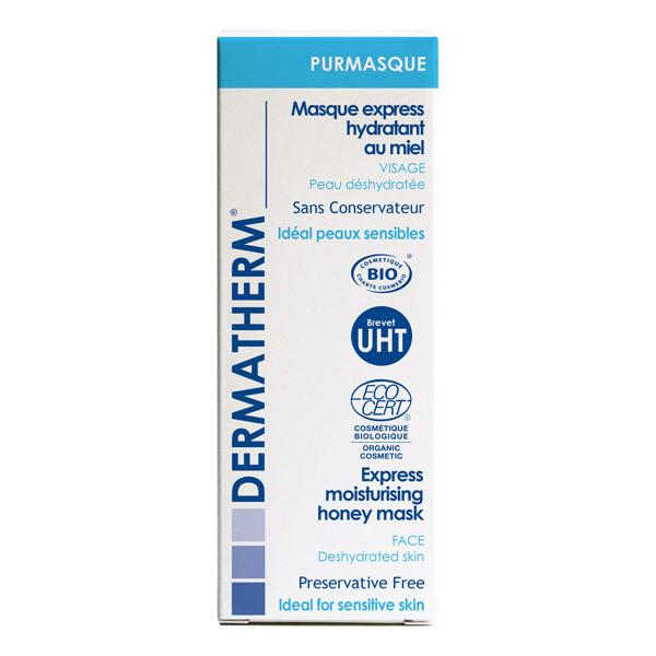 Dermatherm - PURMASQUE Masque hydratant Réparateur au miel 50ml