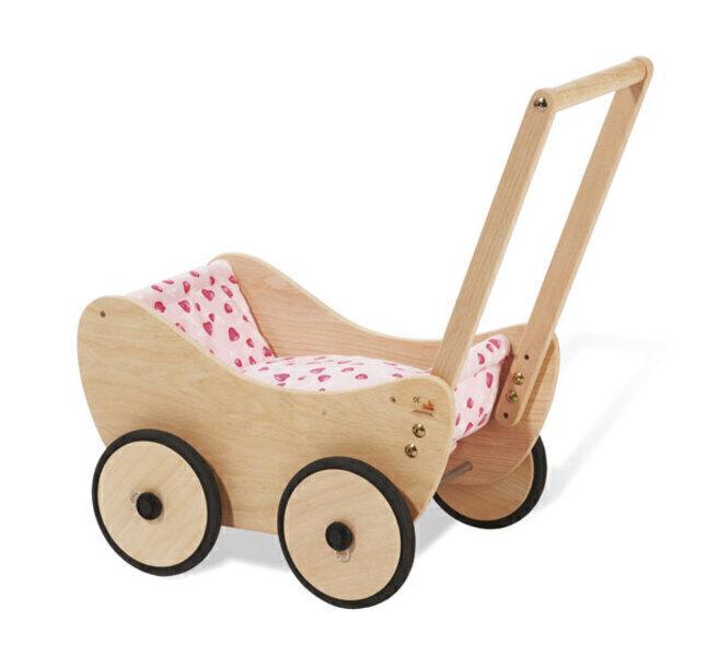 Pinolino - Chariot de poupée et literie Trixi - Dès 12 mois