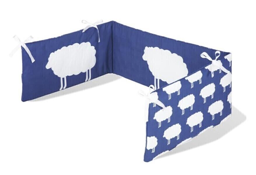 Tour De Lit Bébé Pinolino : Tour de lit bébé quot happy sheep coloris bleu pinolino