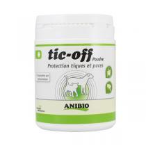 Anibio - Tic-Off supplément nutritionnel en poudre 140g